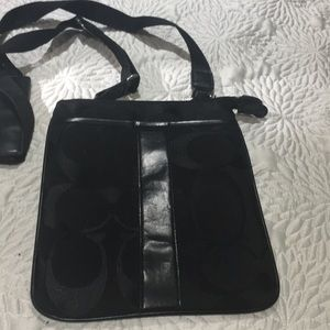 Coach (black) crossbody bag